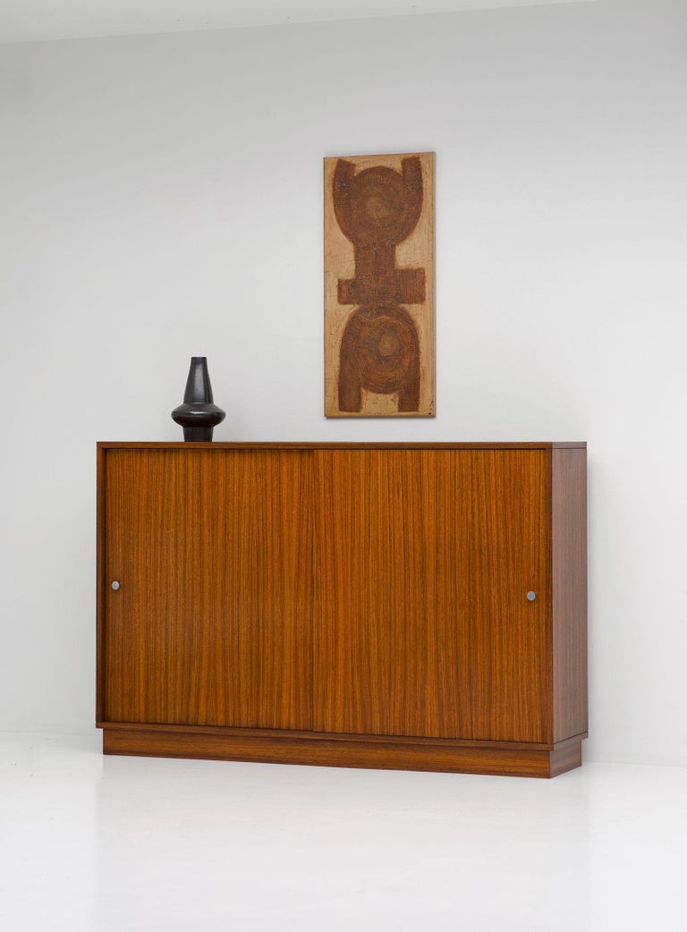Mid-20th Century Zingana Dresser by Alfred Hendrickx Belform, 1960s For Sale