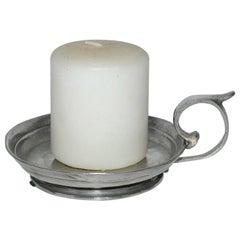 Zinn Pewter Candleholder