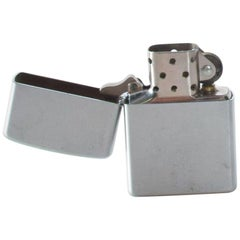 Zippo Vintage Classic Cool Cigarette Lighter Mid-Century Modern, USA