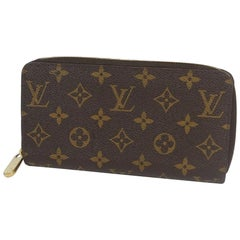 Zippy Wallet  unisex  long wallet M60017  brown