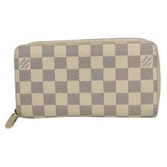 Zippy Wallet  unisex  long wallet N41660 Leather