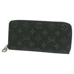 Zippy Wallet  Vertical  Mens  long wallet M62295 Leather