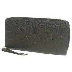 Zippy Wallet  Womens  long wallet M60571  noir Leather