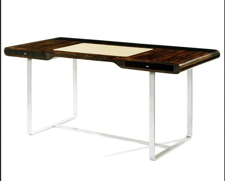 Appliqué Ziricotte Wood Desk