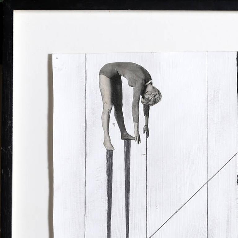 Untitled - Pulley System - Conceptual Mixed Media Art by Zizi Raymond