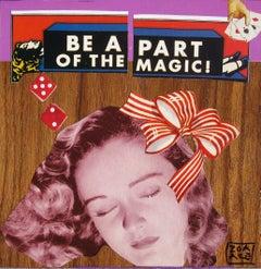 """Magic Trick"" Mixed media collage"