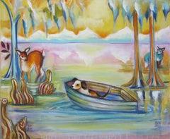 """Little Refugee"" Oil Painting"