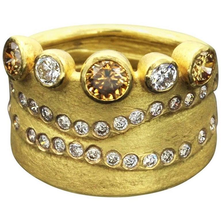 Zobel Diamond Gold Ring