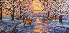 Winter, Painting, Oil on Canvas