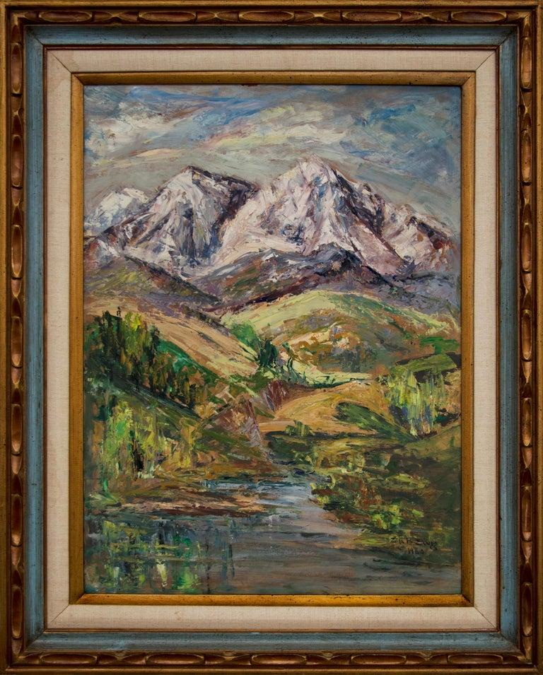 Untitled (Colorado Mountain Landscape) For Sale 1