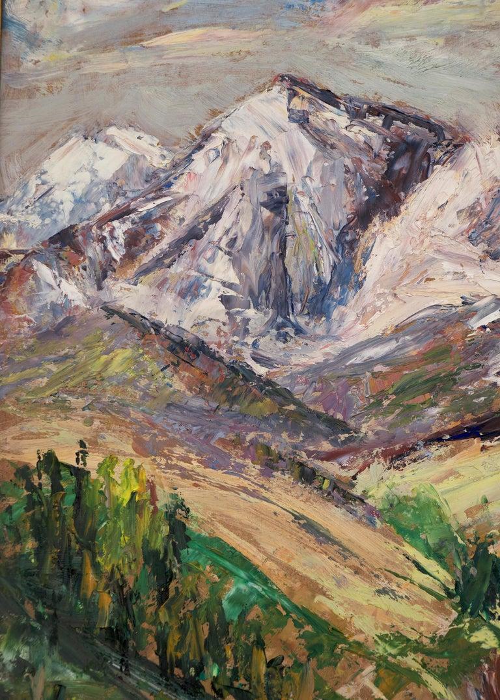 Untitled (Colorado Mountain Landscape) For Sale 3