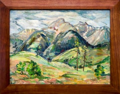 Untitled (Vintage Mountain Landscape in Spring/Summer, Near Colorado Springs)