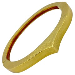 Zolotas 22 Karat Yellow Gold Bangle Bracelet