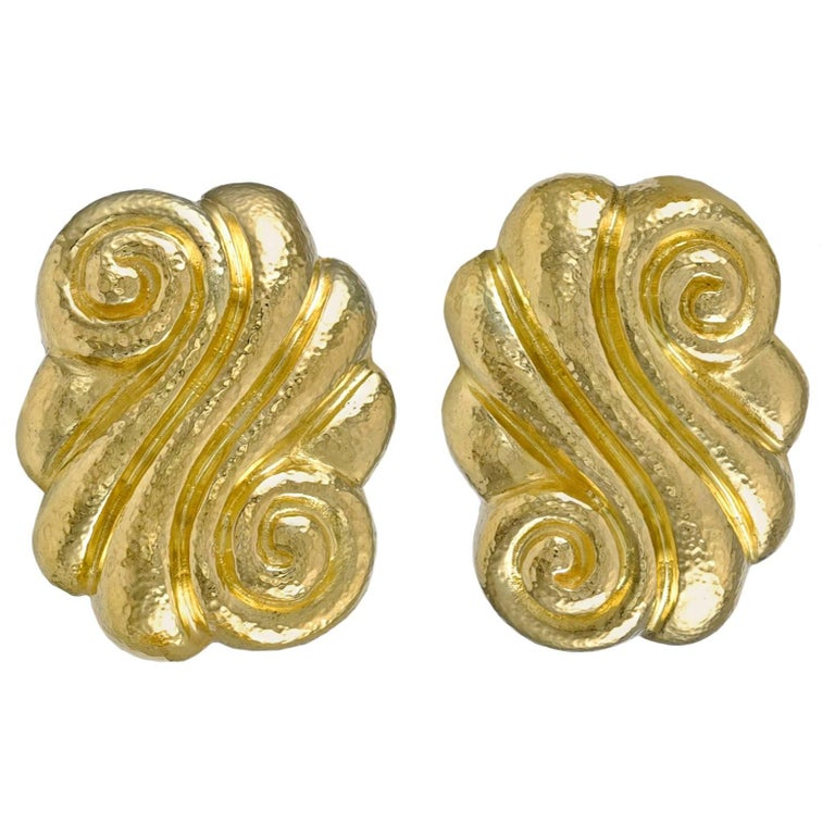 Zolotas Gold Ear Clips For Sale