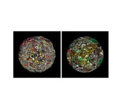 The Broken Planet and The Excitement Planet, Diptych