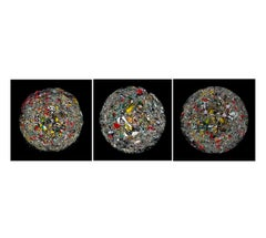 The Broken Planet, The Anger Planet and The Disgust Planet, Triptych