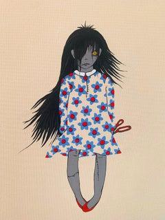 Zombie girl and Scissors