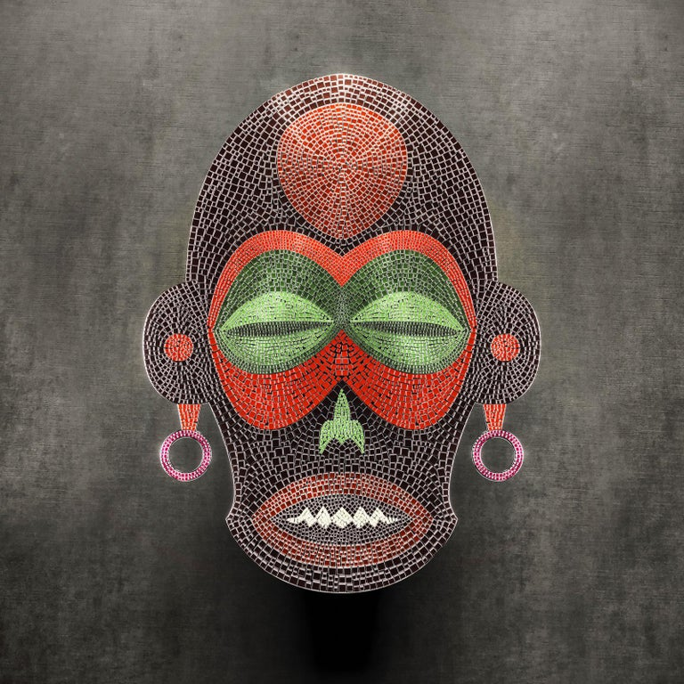 Italian Zoolu Tilla in Wonderland Mask by Mutaforma For Sale