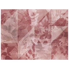 Zoothera - custom mural wallpaper (color antique pink)