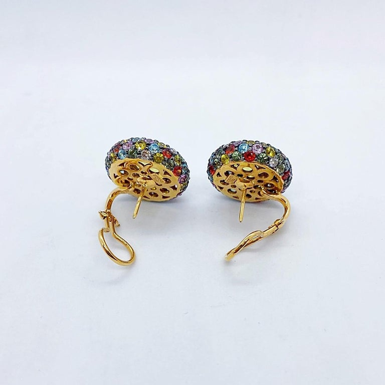 Known for their classic elegance  and contemporary styling , Zorab has been creating magnificent jewelry for over 40 years. A family business now run by the second generation specializing in playful yet sophisticated pieces. These earrings center