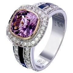 Zorab Creation 2.32 Carat Pinky Sapphire Ring