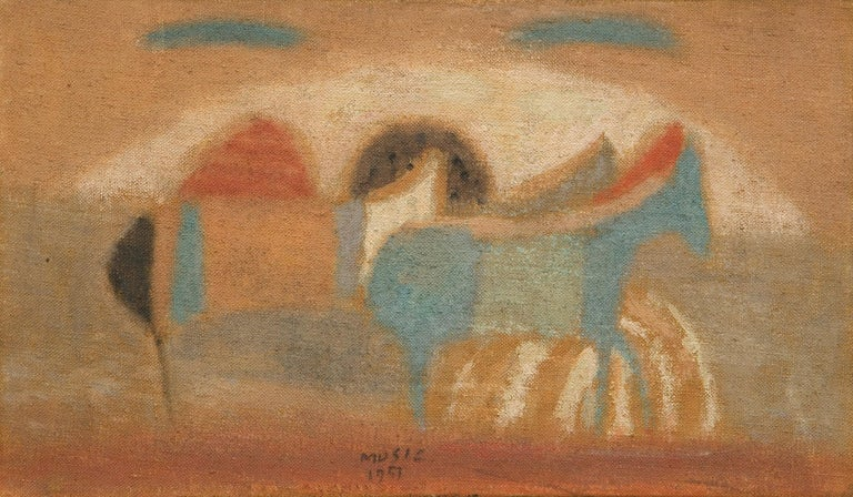 Zoran Antonio Music Animal Painting - Cavallini (Horses / Caballos)  Painting, oil on canvas