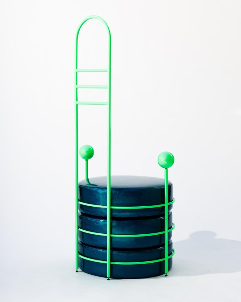 American Zorg Chair by Another Human, Post-Modern, Contemporary, High Backed Chair For Sale