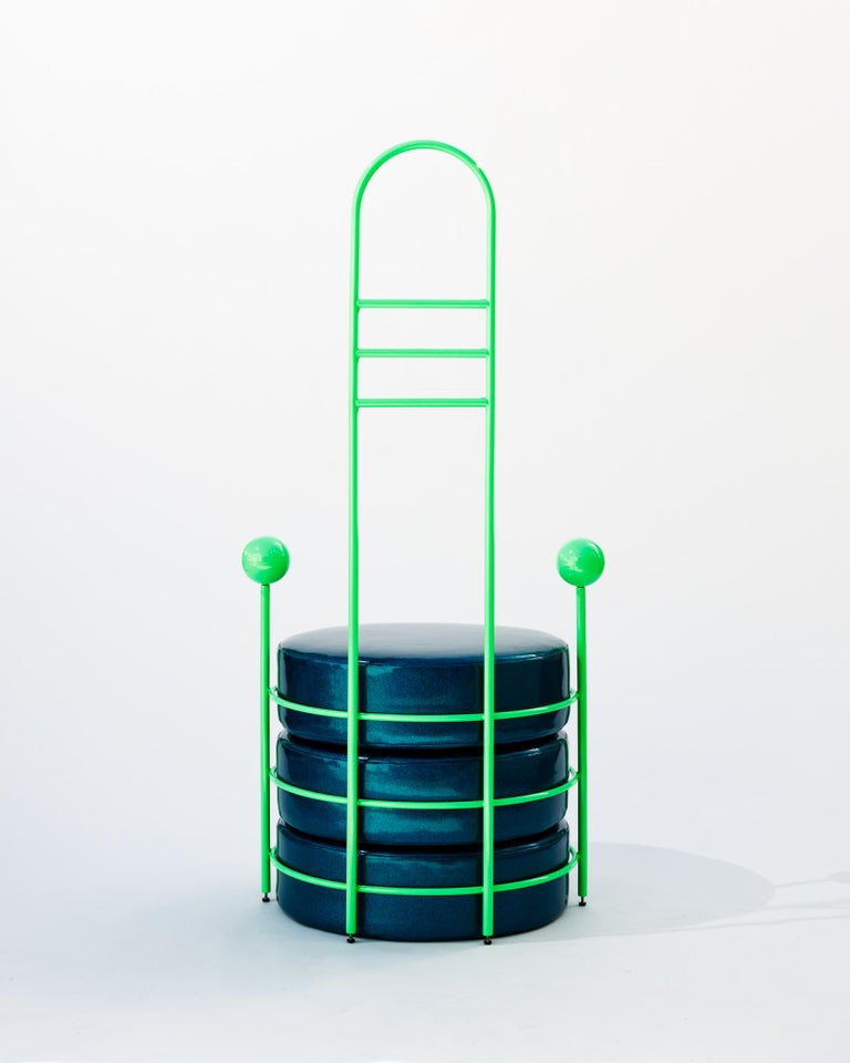 Zorg Chair by Another Human, Post-Modern, Contemporary, High Backed Chair For Sale 1
