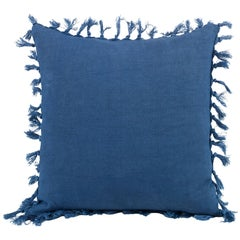 Zoysia Linen Decorative Accent Pillow with Fringe by CuratedKravet