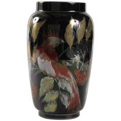 Zsolnay Eosin Iridescent Glaze, 1950s Large Vase Hungary