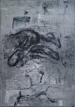 Untitled 03 [Remains of the Remains 03] - Contemporary Art, Abstract, Black