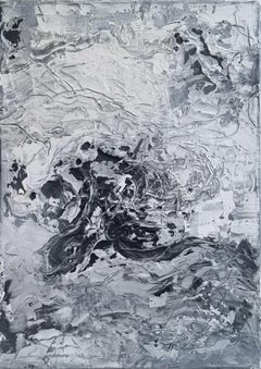 Untitled 06 [Remains of the Remains 06] - 21st Century, Abstract, Gray