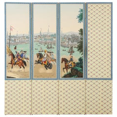 Zuber and Cie Wallpaper Panels American Independence Screen