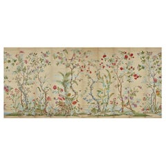 Zuber, 'Decor Chinois' Hand Wood Blocked on Grasscloth Scenic Wallpaper