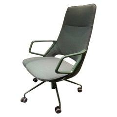 Zuma Green High Back Desk Chair by Patrick Norguet