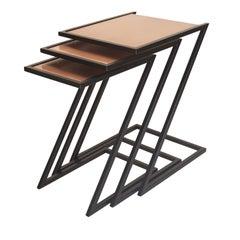 Zumm Zum Zu Iron Nesting Tables