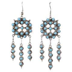 Silver Chandelier Earrings