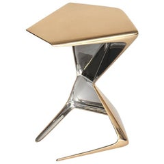Polished Bronze & Stainless Steel  Design by Michael Sean Stolworthy - ZYA Table