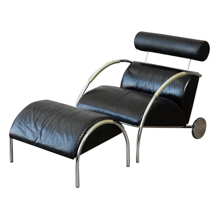 Zyklus Chair and Ottoman by Peter Maly For Sale