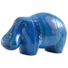 ZZ999-122, Made in Italy, Material Ceramic, Designer Aldo Londi, Color Blue