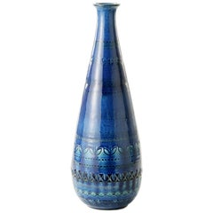 ZZ999-185, Made in Italy, Designer Aldo Londi, Material Ceramic, Color Blu